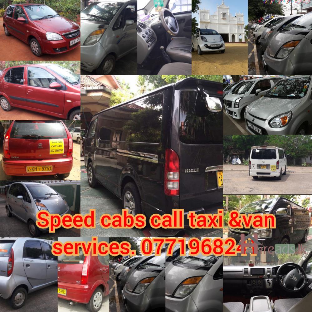 Jaffna call taxi&van services